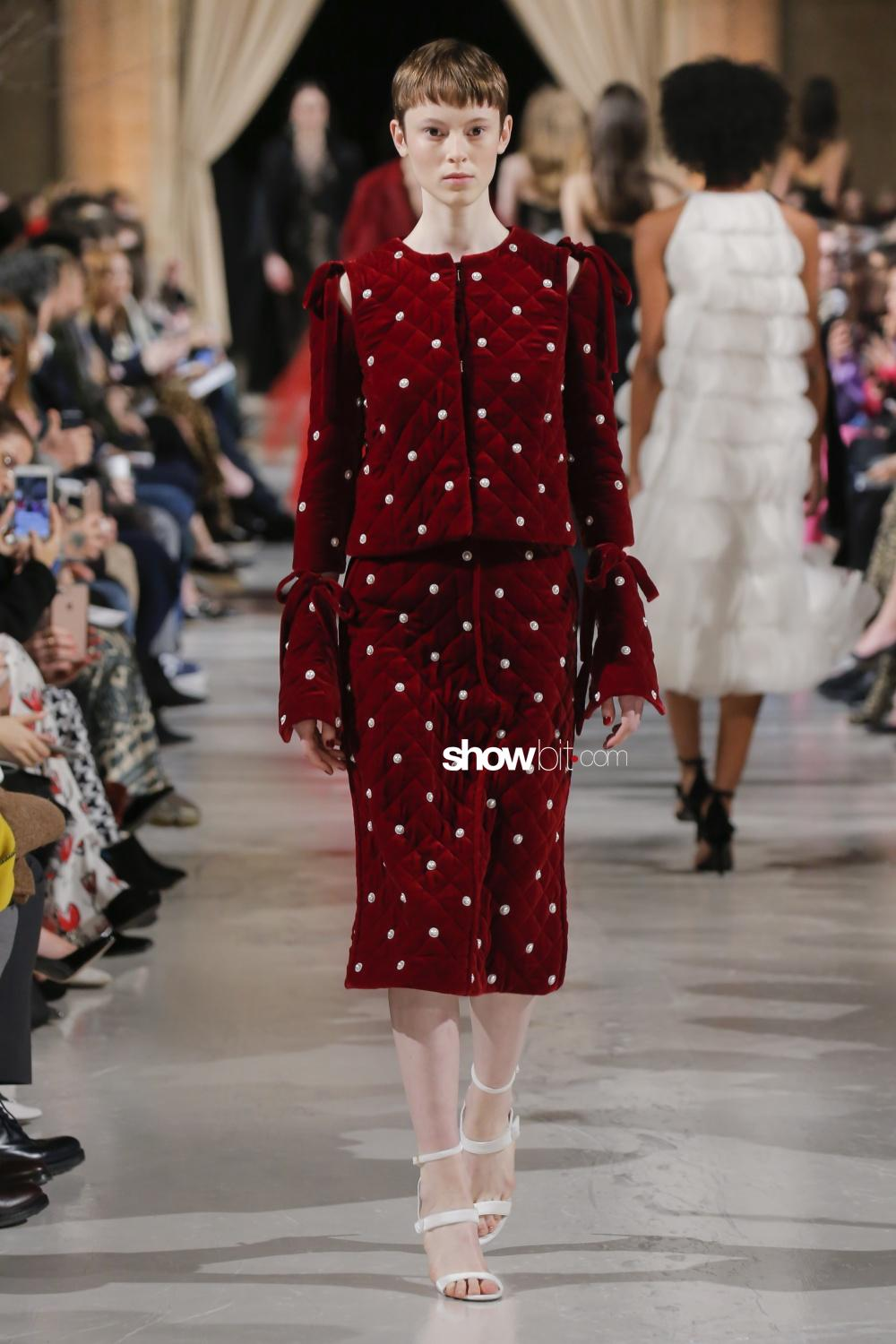 Oscar de la Renta Women's New York Fall Winter 2018