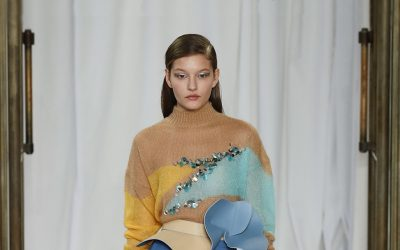 London: Delpozo's wintery spring awakening