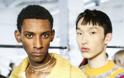 Paris Men's Fashion Week: the Beauty Backstage from Fall 2018 fashion shows