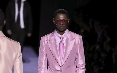 New York Fashion Week: Tom Ford shines a light on masculinity