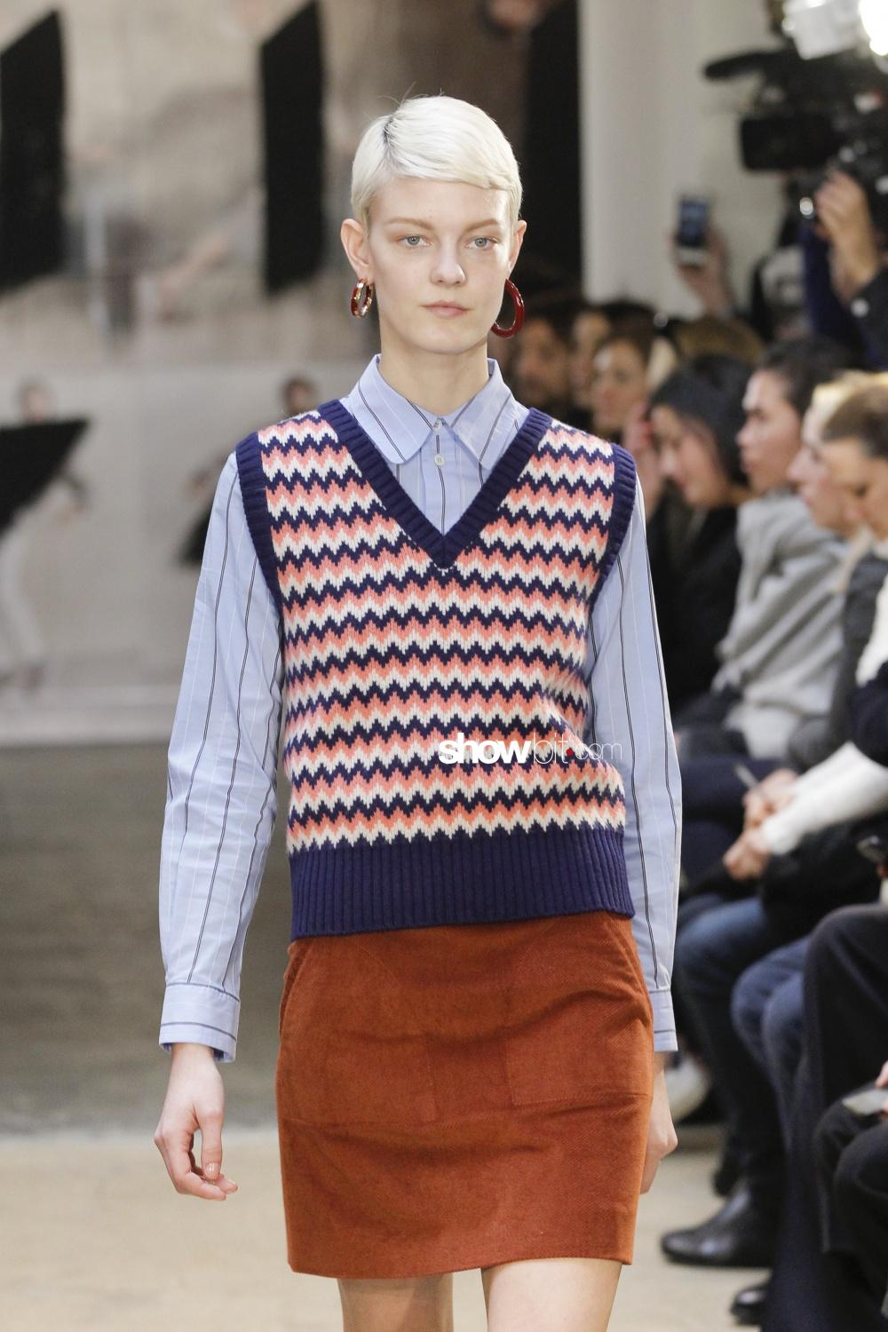 A.P.C. Knitwear Woman Fall Winter 2018 Paris