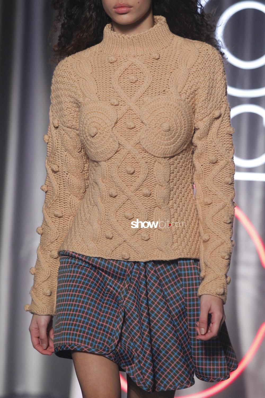 Aalto close-up knitwear Woman Fall Winter 2018 Paris