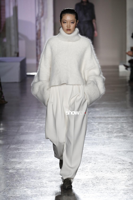 Calcaterra knitwear Woman Fall Winter 2018 Milano