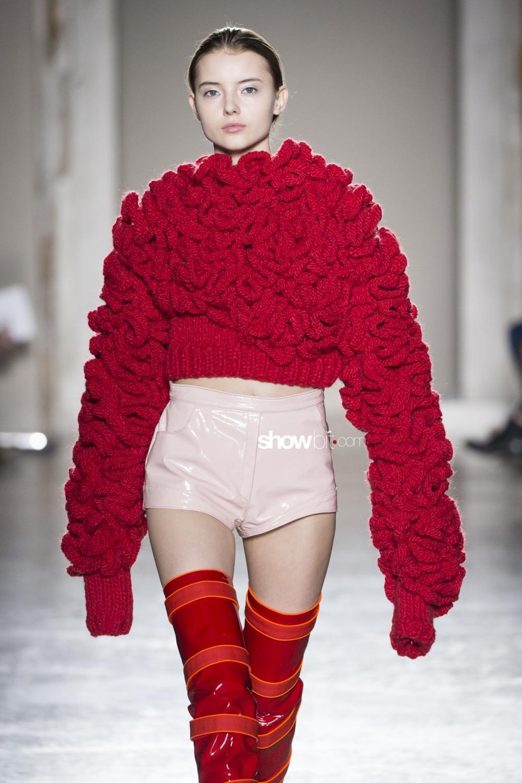 Cristiano Burani knitwear Woman Fall Winter 2018 Milano