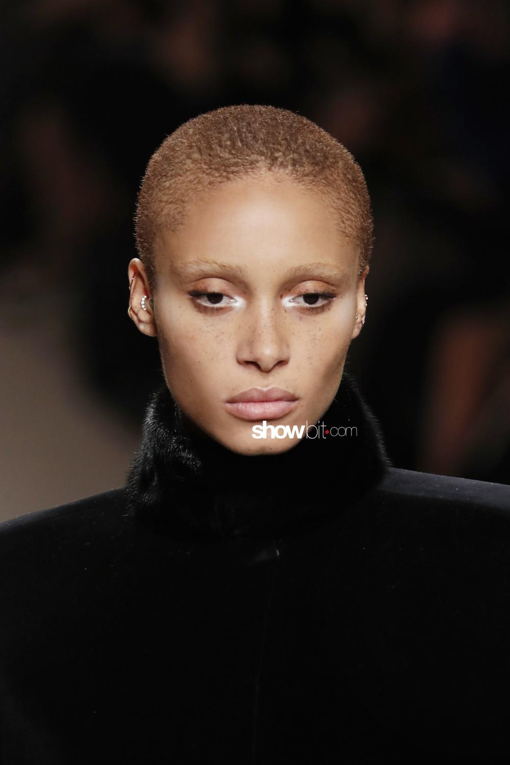 Fendi beauty runway Fall Winter 2018 Milano Adwoa Aboah