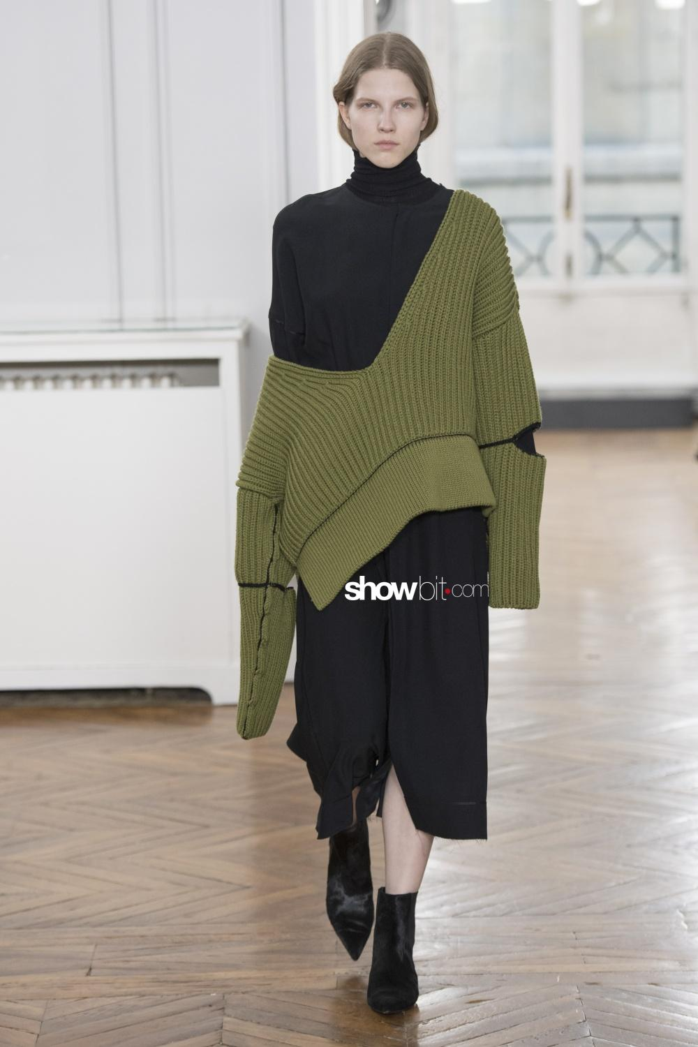 Gauchere knitwear Woman Fall Winter 2018 Paris
