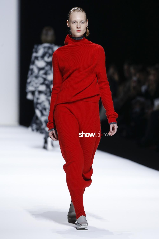 Jil Sander knitwear Woman Man Fall 2018 Milano