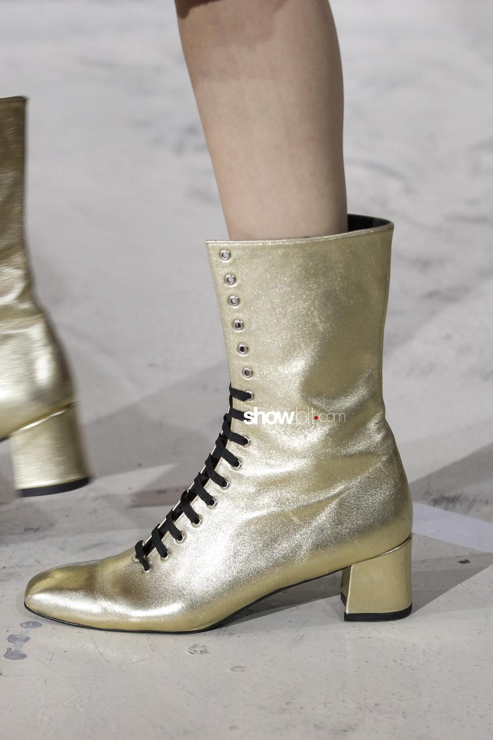 Jourden close-up shoes Woman Fall Winter 2018 Paris