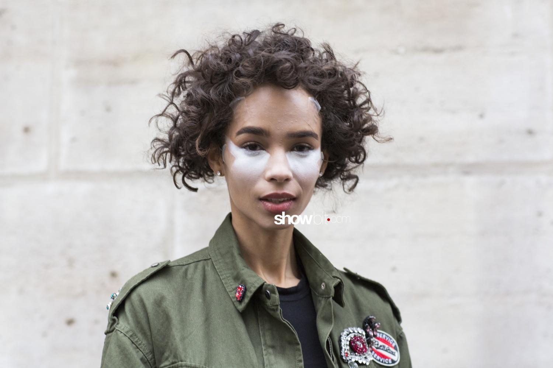 Julien Fournié people street style Haute Couture Spring Summer 2018 Paris