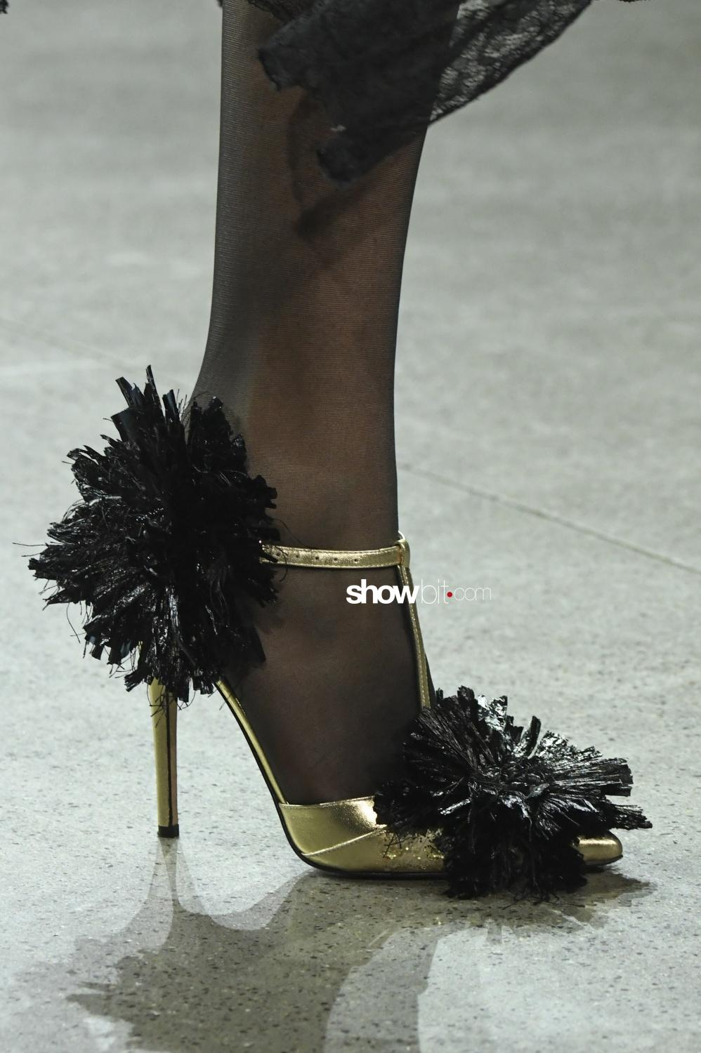 Libertine close-up shoes Woman Man Fall Winter 2018 New York