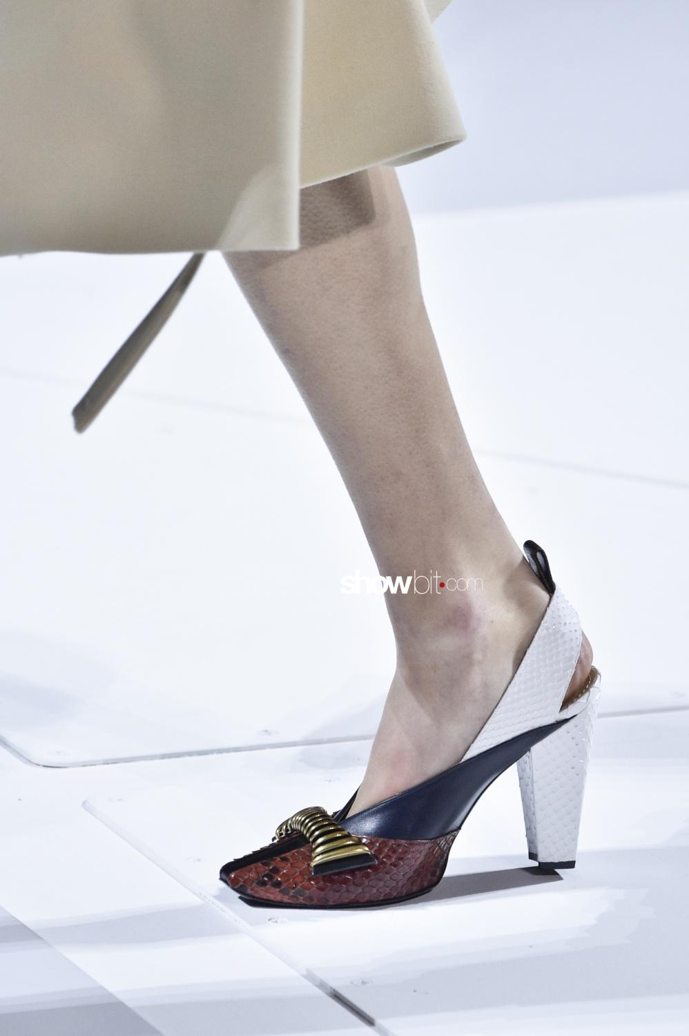 Louis Vuitton close-up shoes Woman Fall Winter 2018 Paris