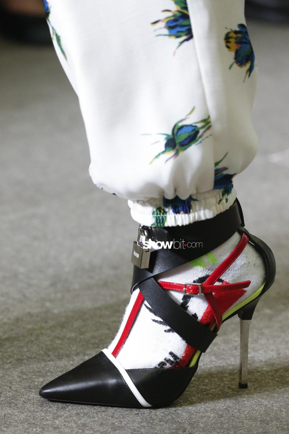 MSGM press close-up shoes Woman Fall Winter 2018 Milano