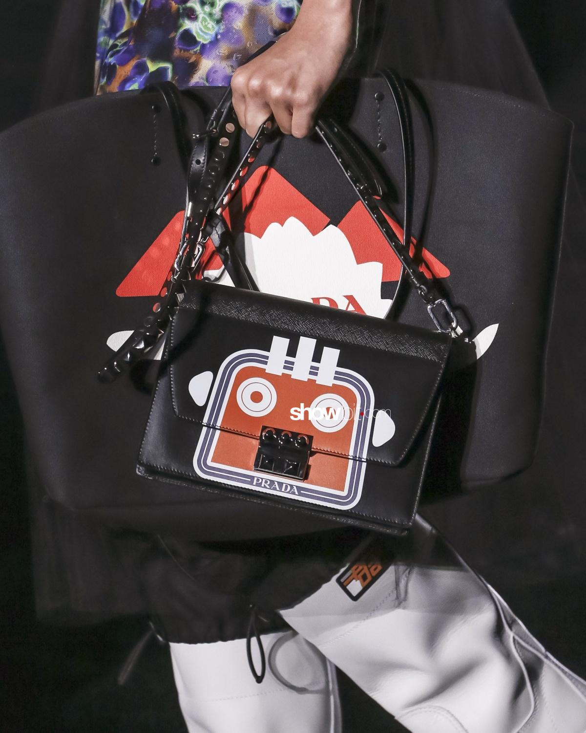 Prada close-up Woman Fall Winter 2018 Milano