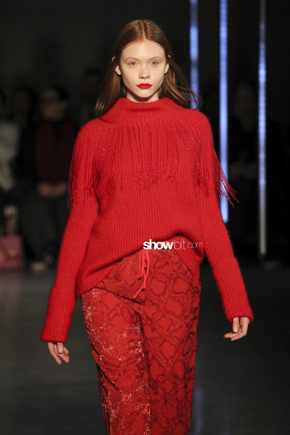 Sally Lapointe knitwear Woman Fall Winter 2018 New York