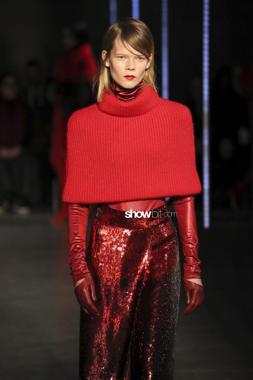 Sally Lapointe knitwear Woman Fall Winter 2018 New York