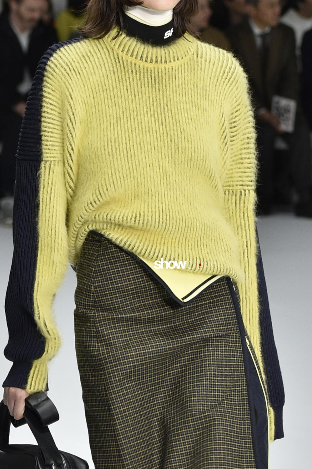 Sportmax close-up knitwear Woman Fall Winter 2018 Milano