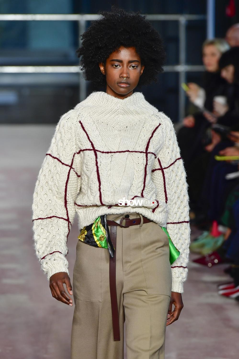 Toga knitwear Woman Fall Winter 2018 London