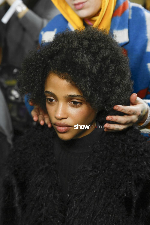 Trussardi backstage Woman Fall Winter 2018 Milano