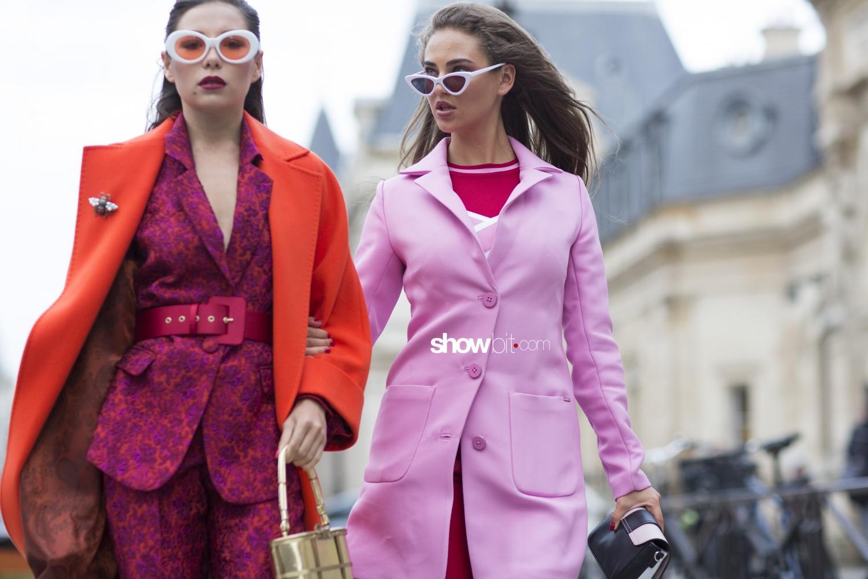 Viktor&Rolf people street style Haute Couture Spring Summer 2018 Paris