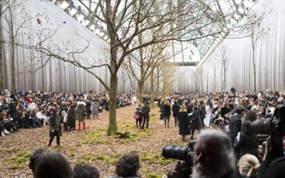 Chanel Fall 2018: an enchanted forest
