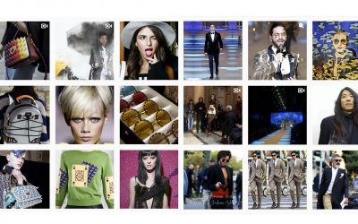 SHOWbit provides Instagram Contents feeding From FashionWeeks