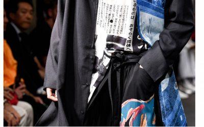 Yohji Yamamoto: a dark romance in close-up details