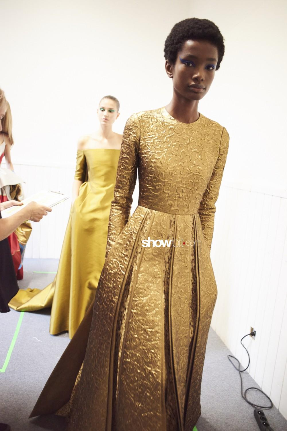 Valentino backstage Haute Couture Fall Winter 2018 Paris