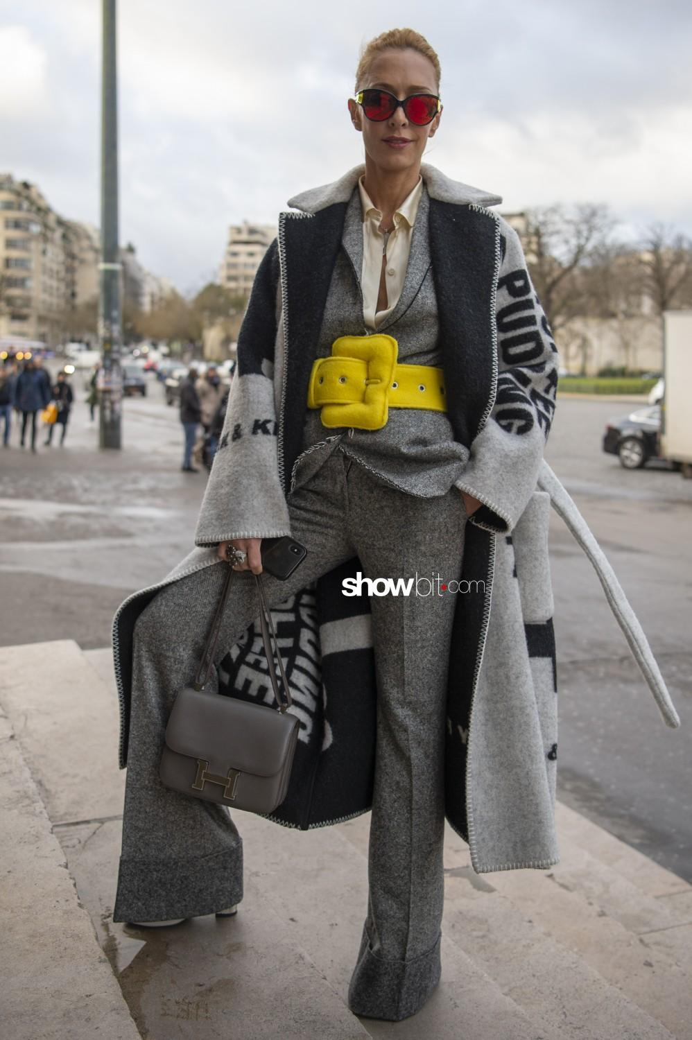 Ami Alexandre Mattiussi people Man Fall Winter 2019 2020 Paris