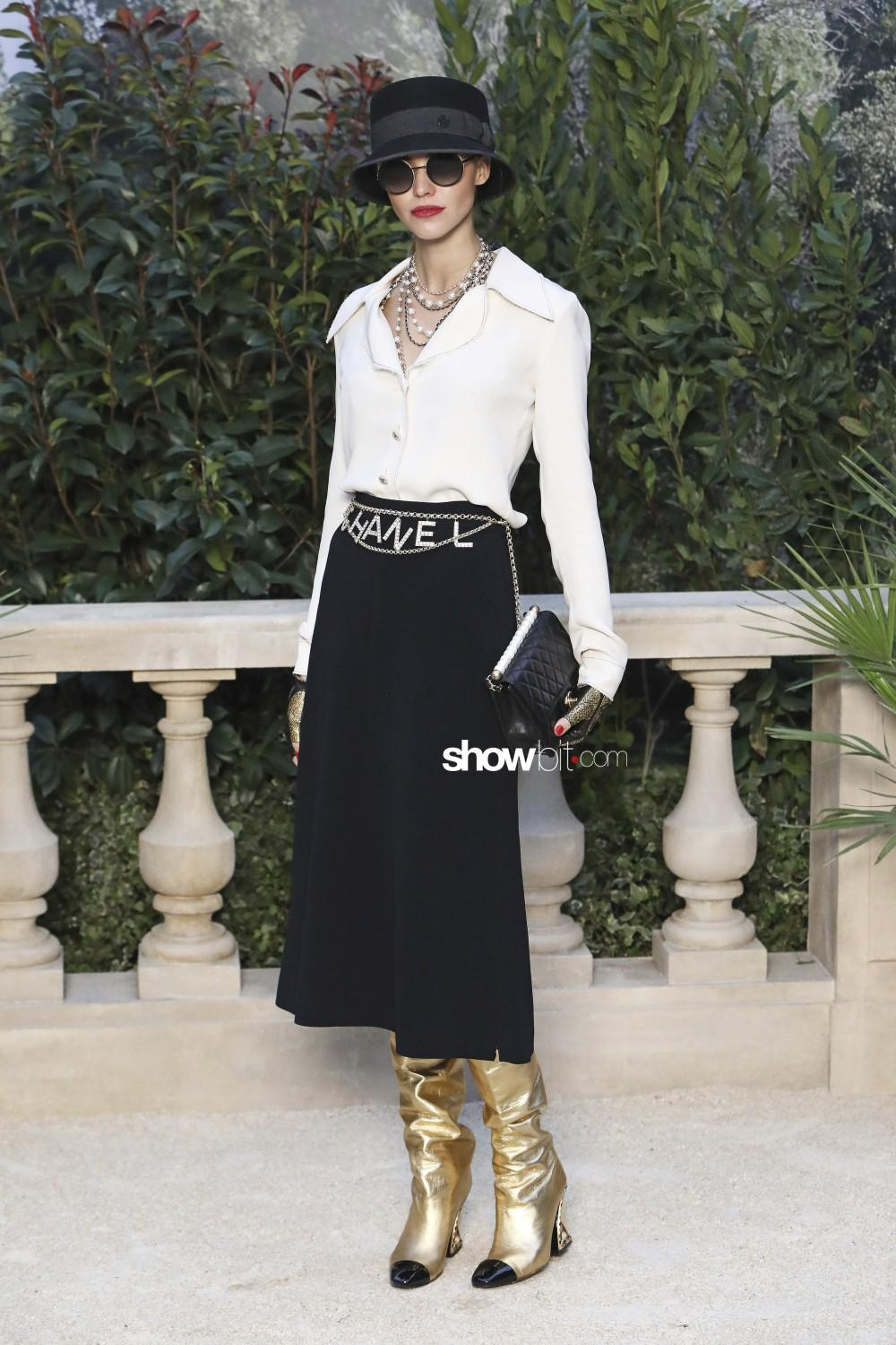 Chanel people Haute Couture Spring Summer 2019 Paris