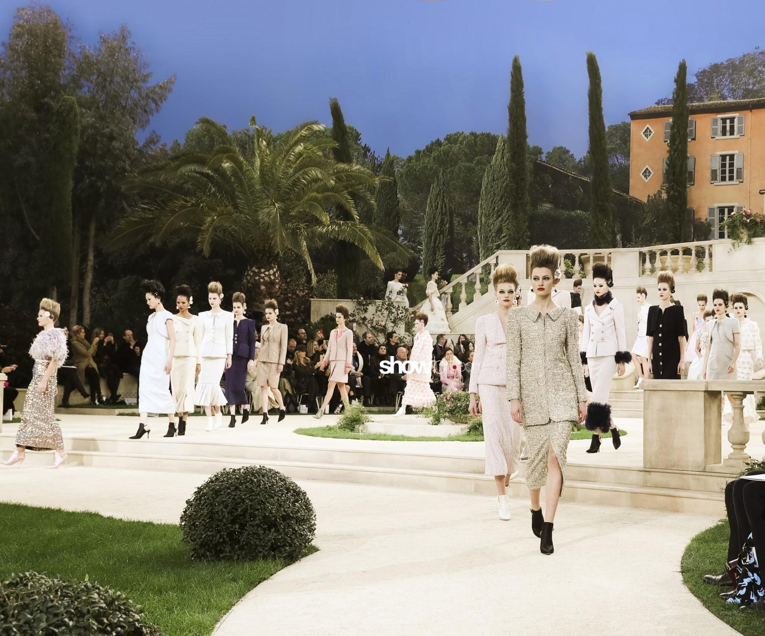Chanel scenery Haute Couture Spring Summer 2019 Paris