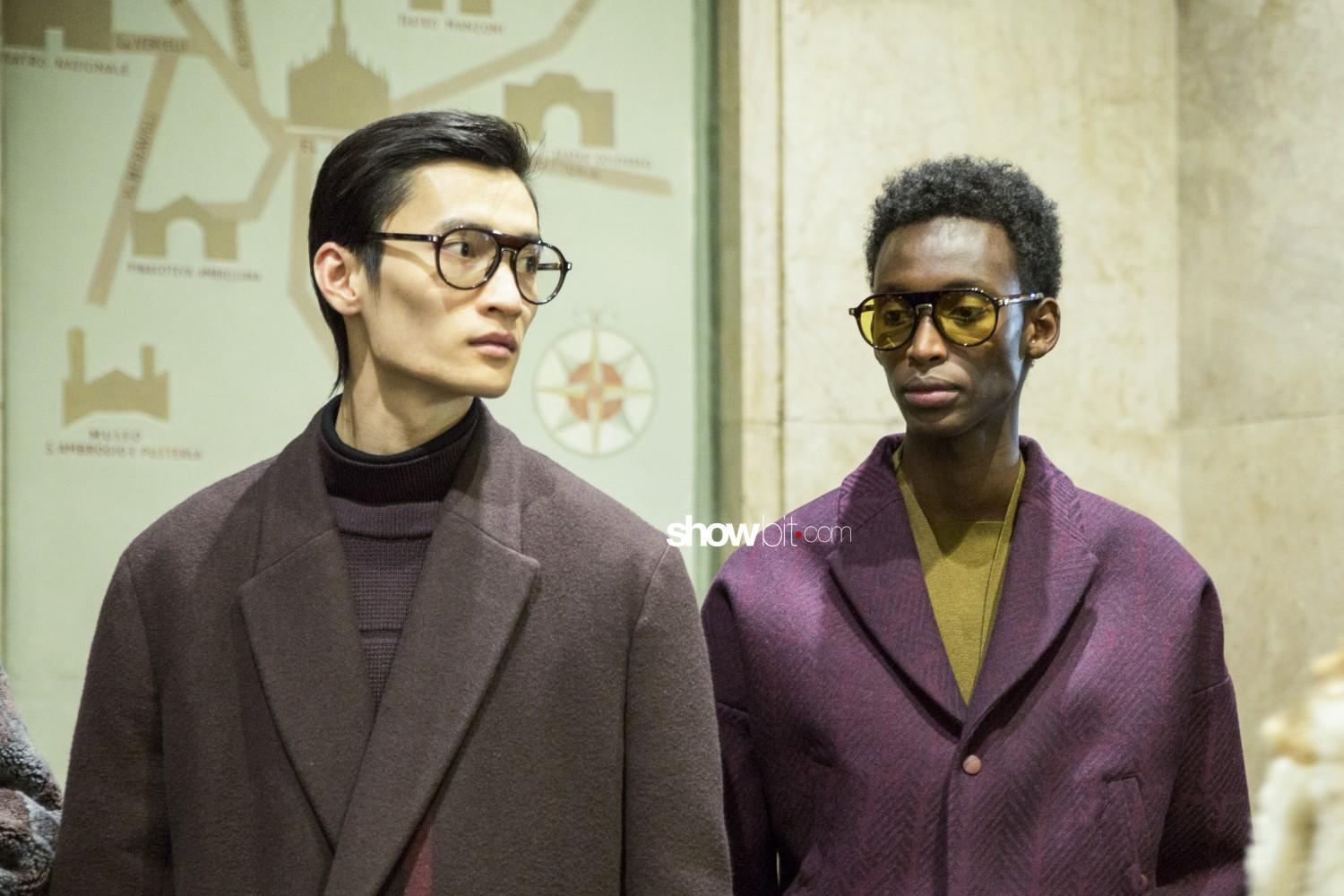 Ermenegildo Zegna backstage Man Fall Winter 2019 Milano