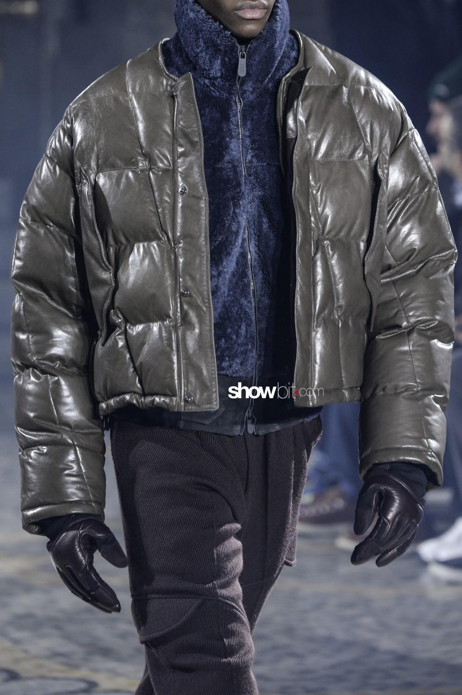 Ermenegildo Zegna close-up Man Fall Winter 2019 Milano