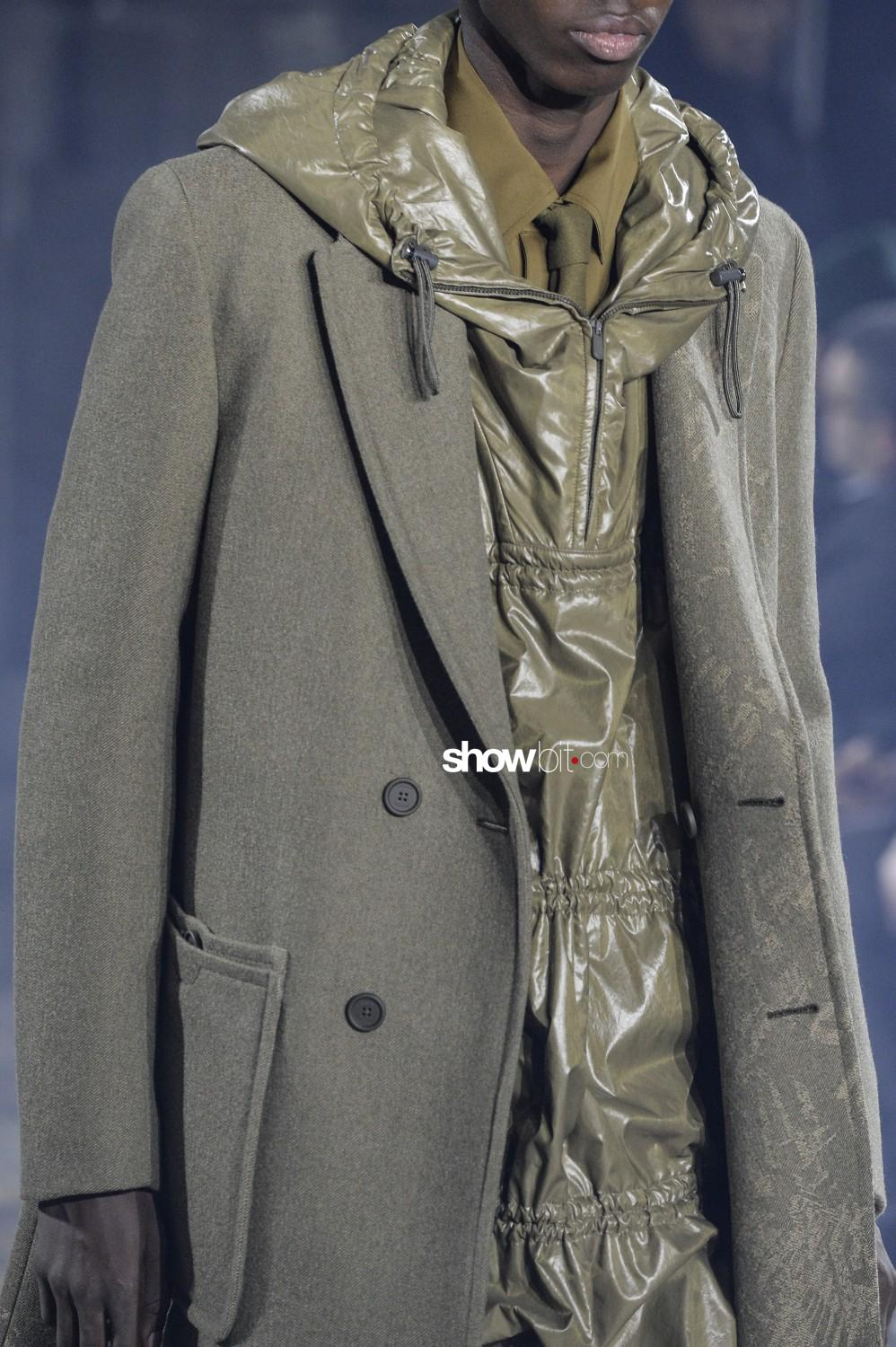 Ermenegildo Zegna close-up Man Fall Winter 2019 Milano