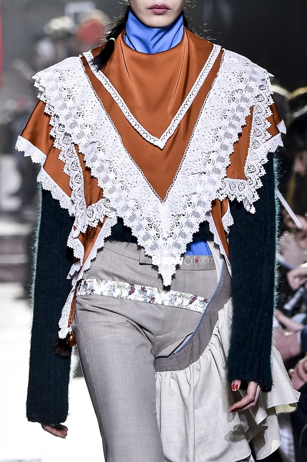 Facetasm close-up Man Fall Winter 2019 2020 Paris