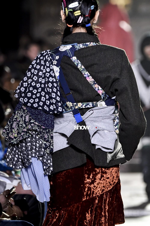Facetasm close-up Man Fall Winter 2019 2020 Paris