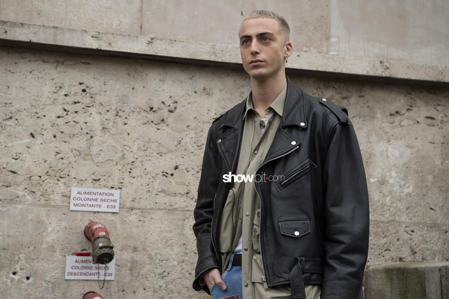 Heron Preston people Man Fall Winter 2019 2020 Paris