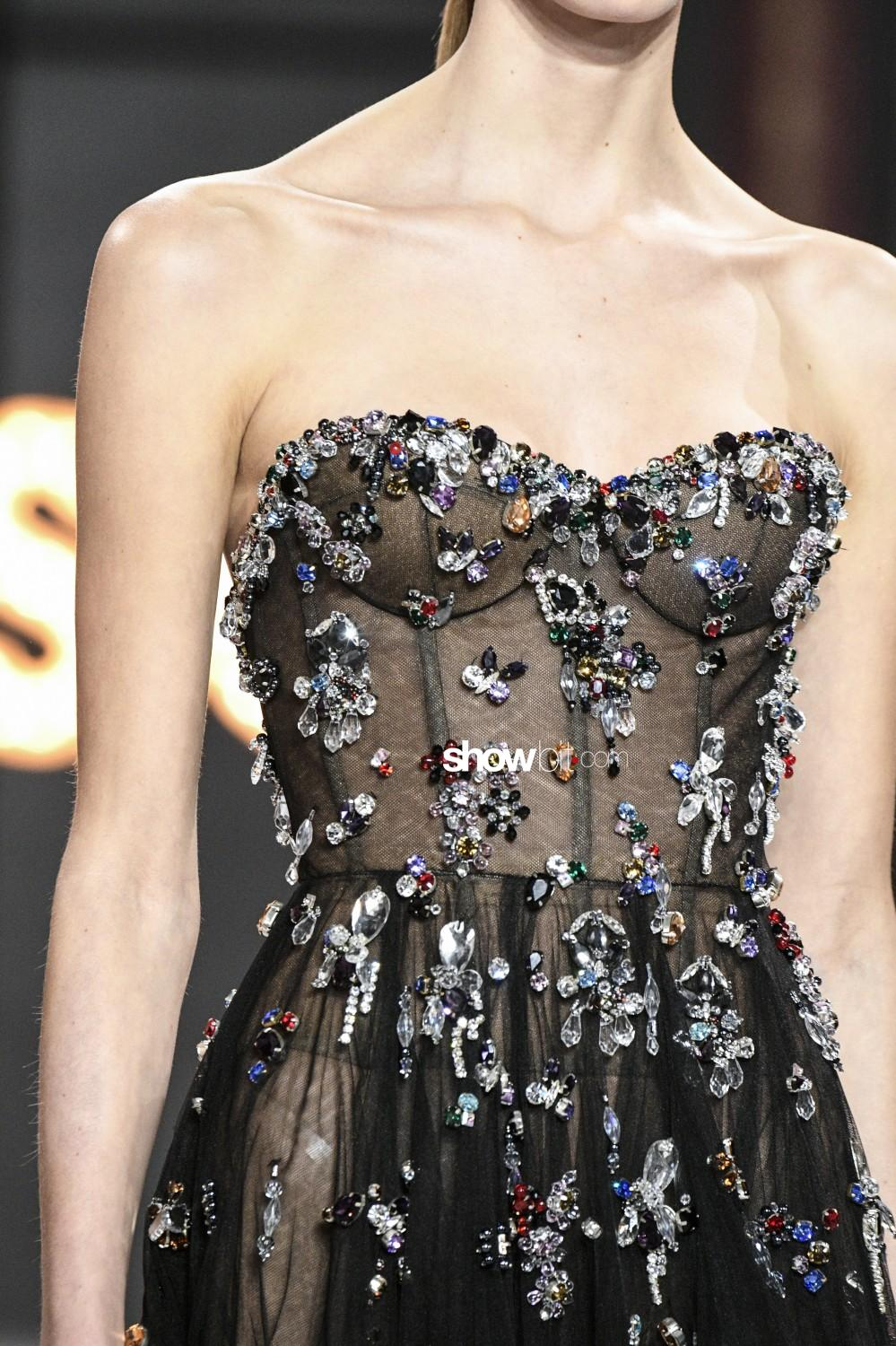 Ralph&Russo close-up Haute Couture Spring Summer 2019 Paris