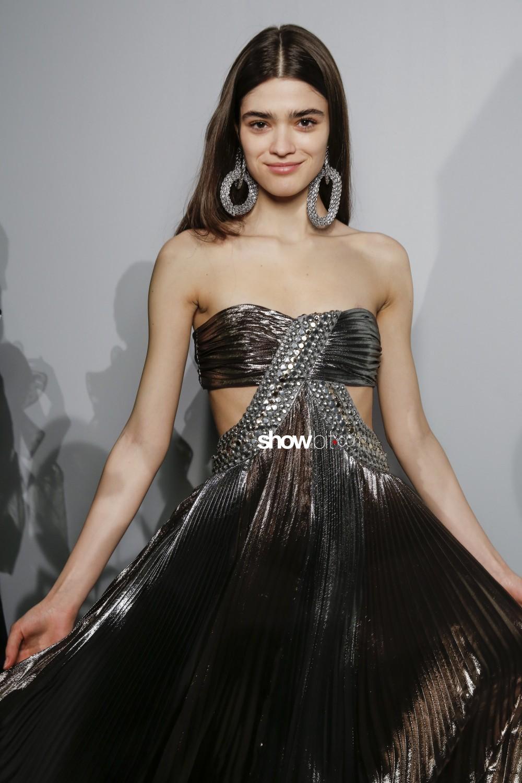 Alberta Ferretti backstage Women Fall Winter 2019 2020 Milano