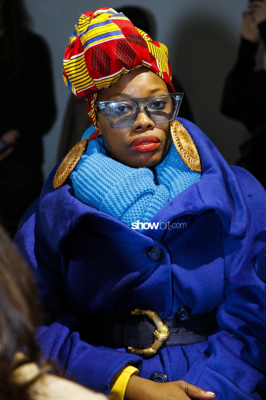 Burnett New York people Woman Fall Winter 2019 2020 New York