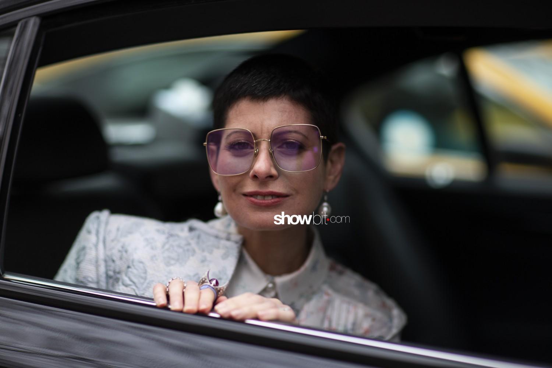 Carolina Herrera people Woman Fall Winter 2019 2020 New York