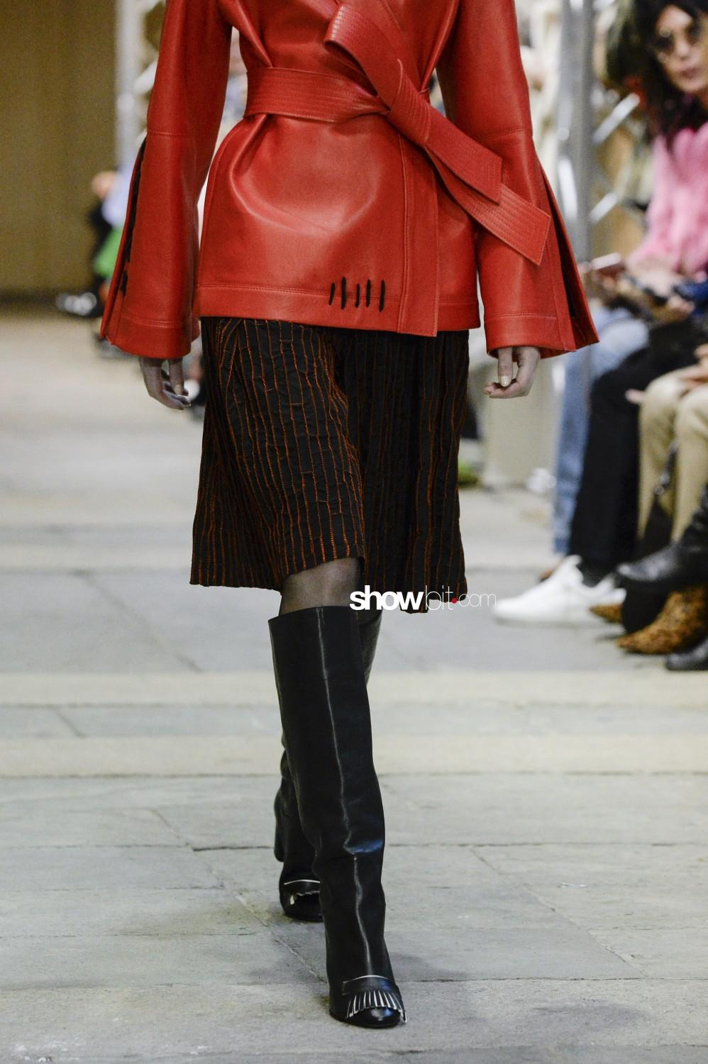 Cristiano Burani close-up Women Fall Winter 2019 2020 Milano