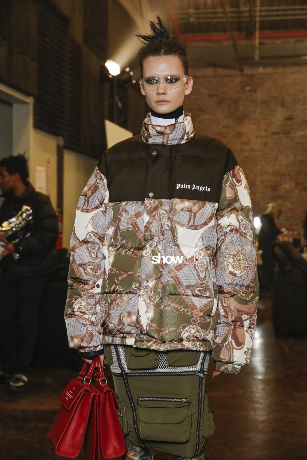 Palm Angels backstage Women Men Fall Winter 2019 2020 New York