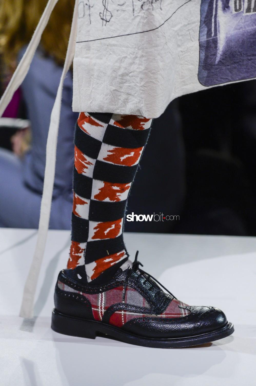 Vivienne Westwood close-up Women Men Fall Winter 2019 2020 London