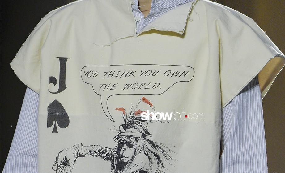 A loud protest in close-up details: Vivienne Westwood's show