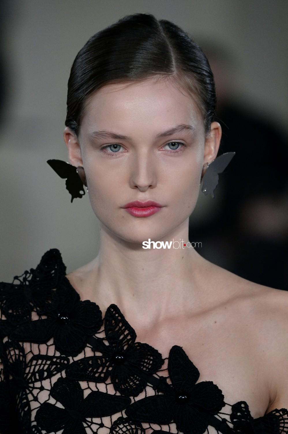 David Koma beauty Woman Fall Winter 2019 2020 London