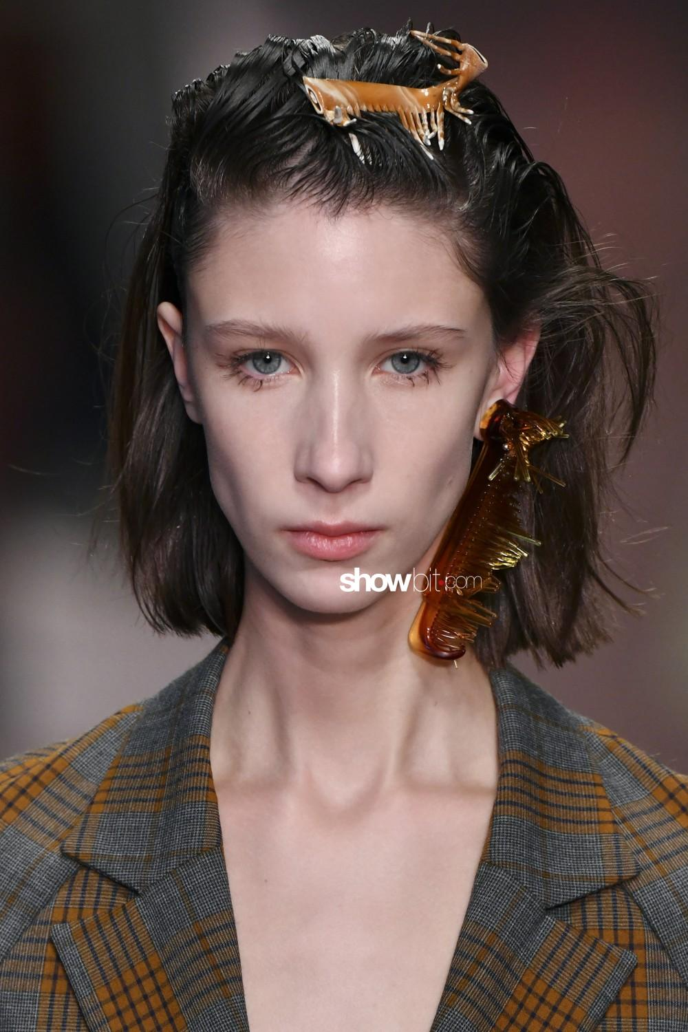 Fashion East beauty Woman Fall Winter 2019 2020 London