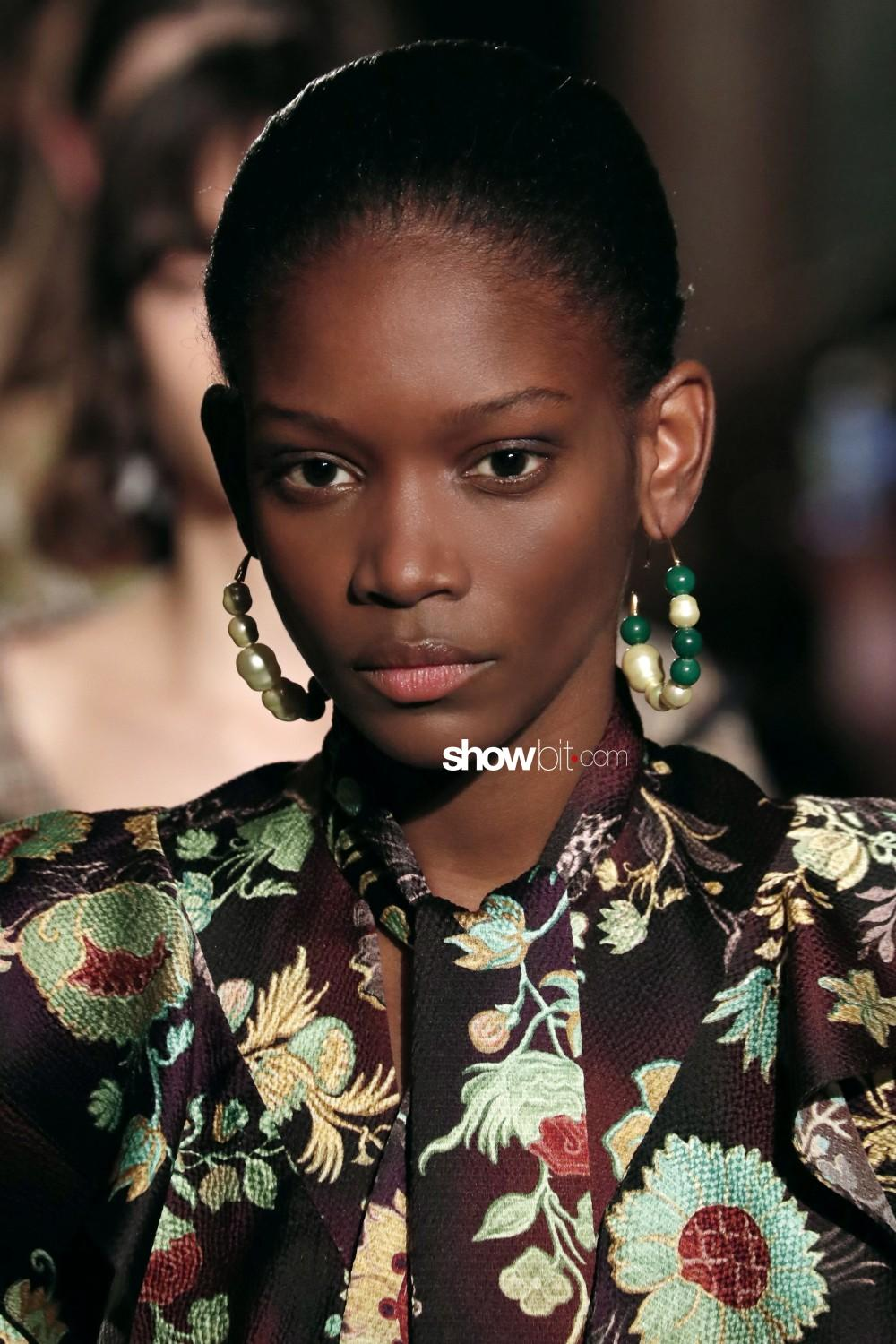 Peter Pilotto beauty Woman Fall Winter 2019 2020 London