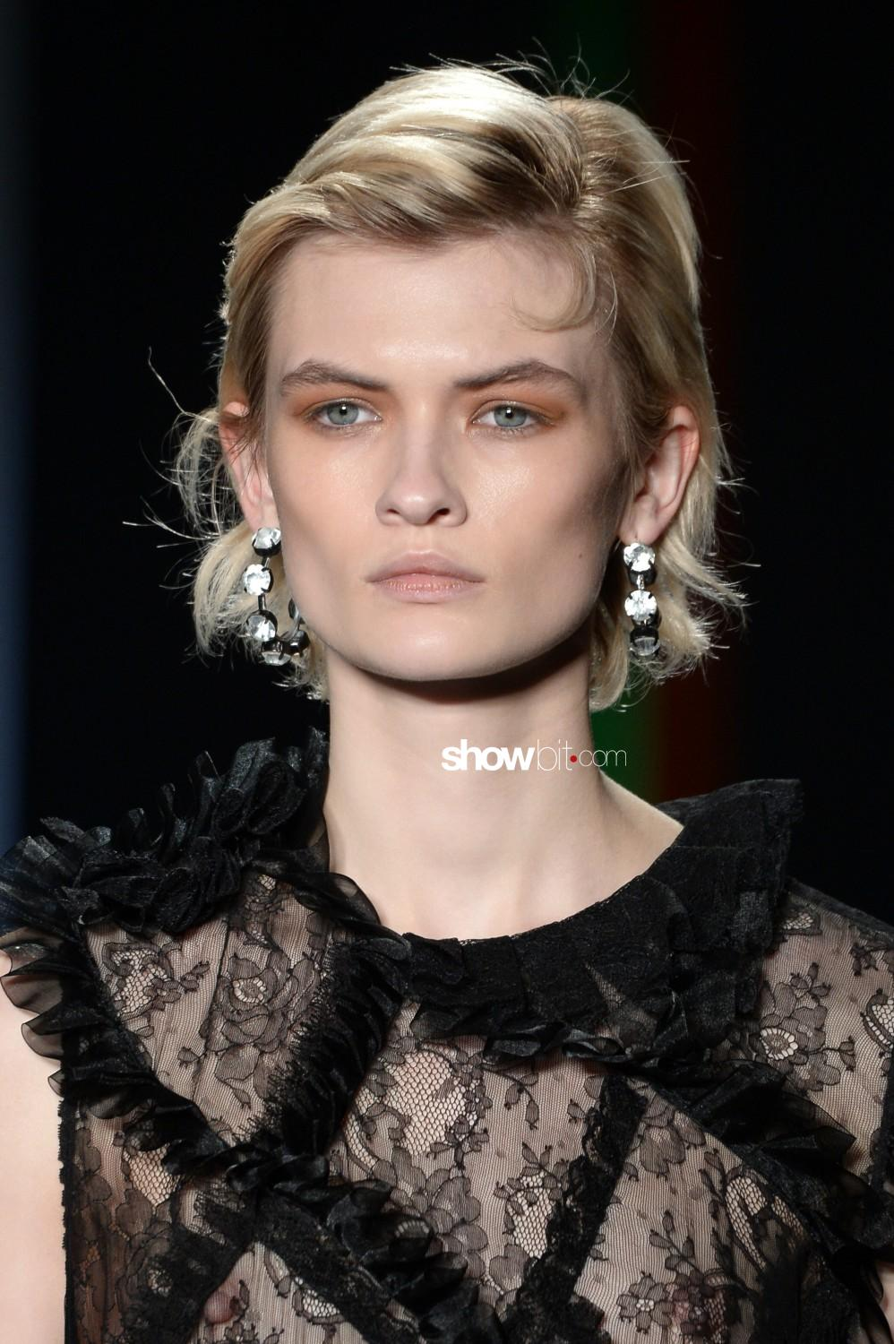 Preen by Thornton Bregazzi beauty Woman Fall Winter 2019 2020 London