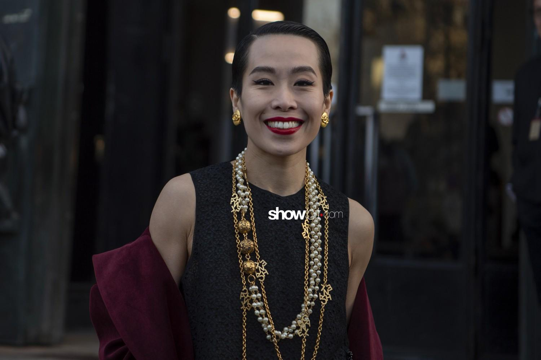 Shiatzy Chen people Women Fall Winter 2019 2020 Paris