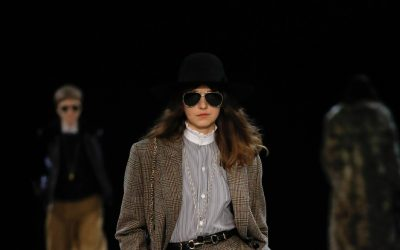 The new Celine grown-up girl by Hedi Slimane